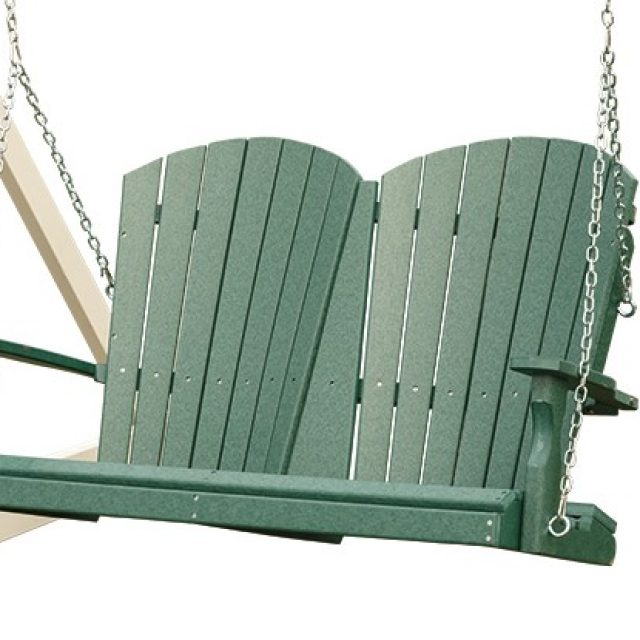 Vinyl loveseats and love seat swings for sale from Adventure World Play Sets