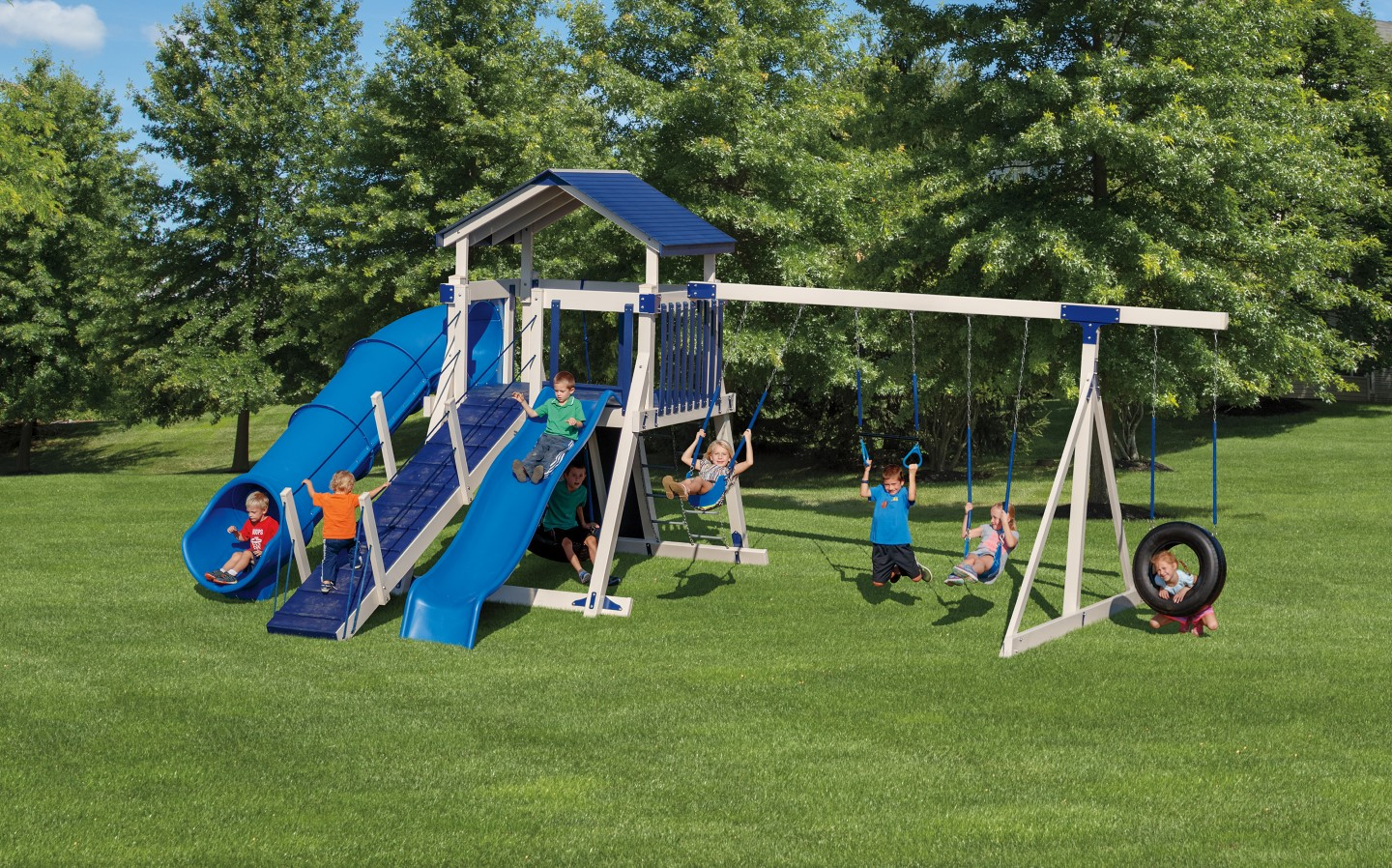 Custom Built Swing Sets Backyard Playsets Playgrounds