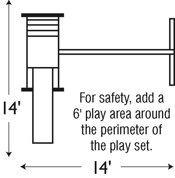 playset measurements