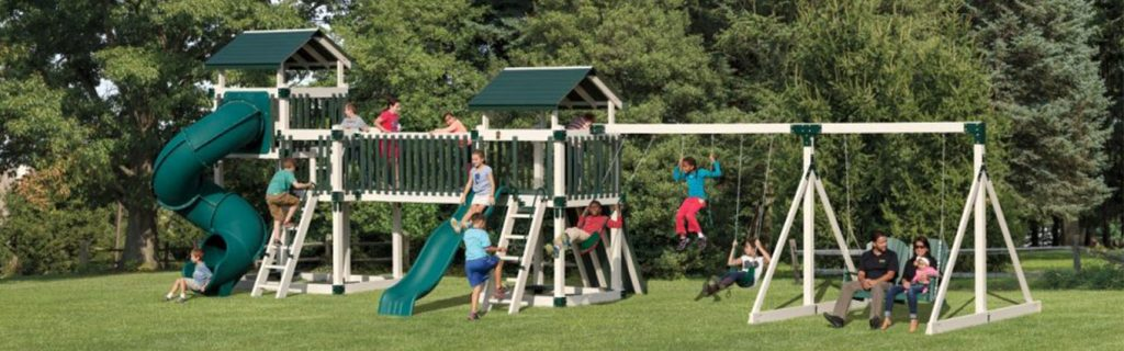 kids playing outside for increased physical and mental wellness