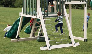 chain ladder swing set accessory
