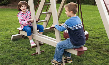 horse glider swing set accessory