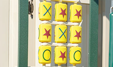tic tac toe swing set accessory