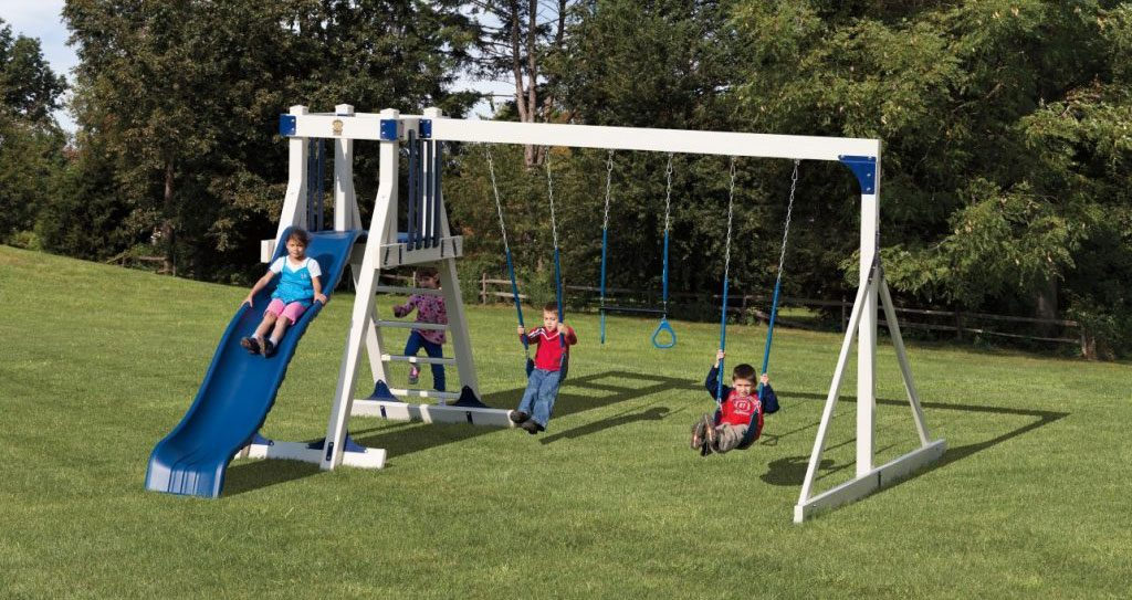 frolic zone swing set