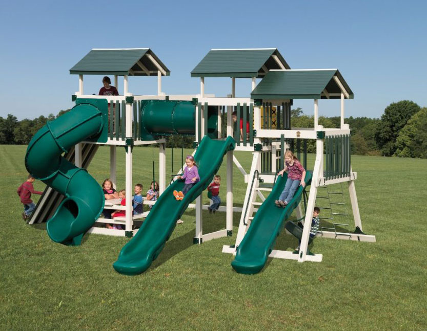 good time tower swing set