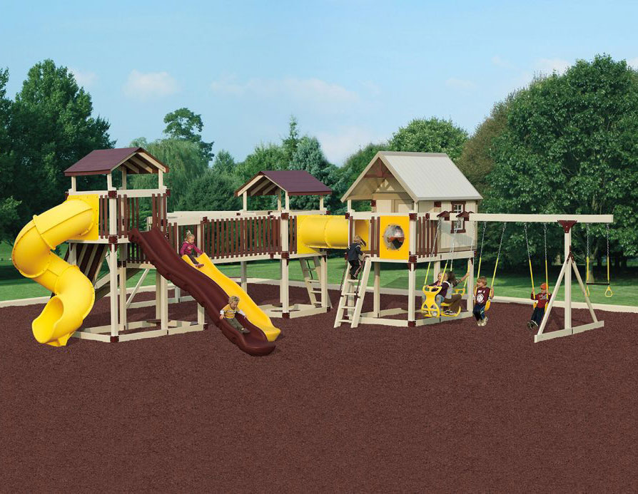 imagination station swing set