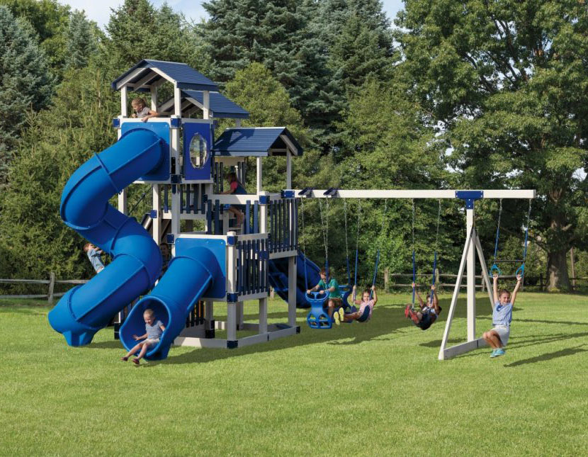 jolly jamboree swing set