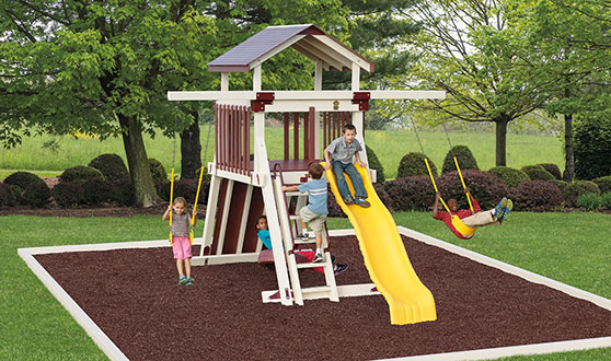 Yard Requirements for a Playset or Swing Set | Adventure ...