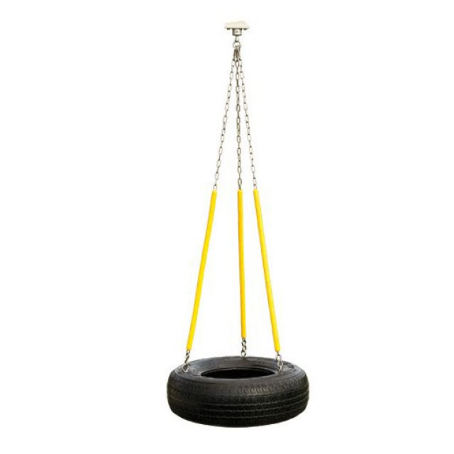 3 chain rubber tire