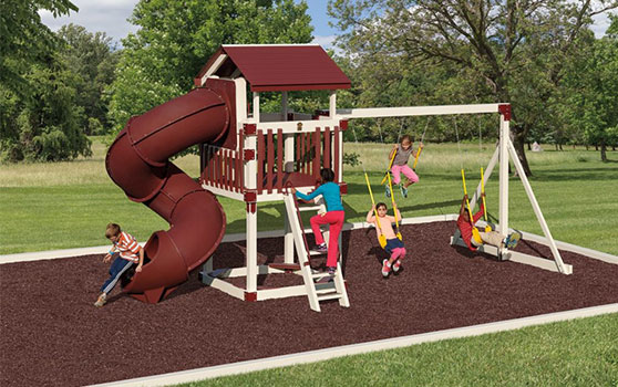 durable vinyl playset