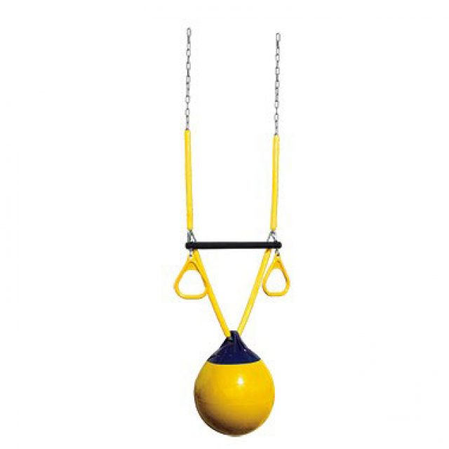 trapeze yellow ball