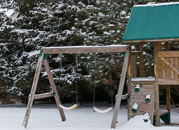 How Much Maintenance Does a Wooden Playset or Swing Set Need?