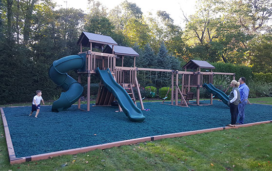 custom backyard playset