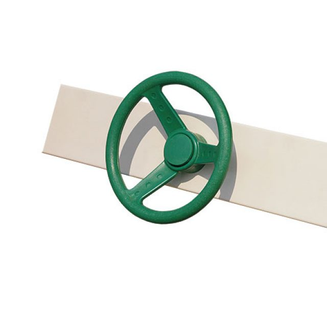 green steering wheel custom playset