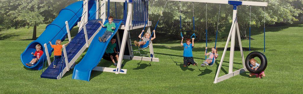 safest swing sets