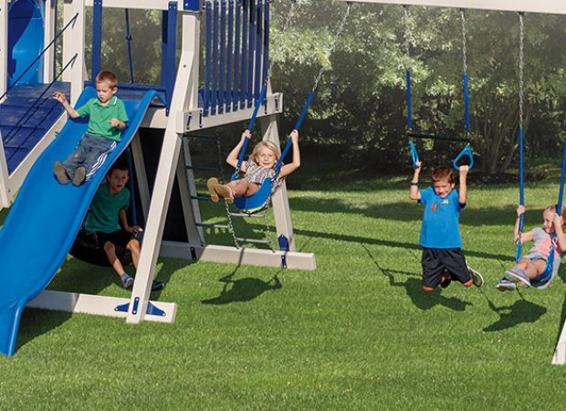 What Makes for the Safest Swing Sets for Your Kids?