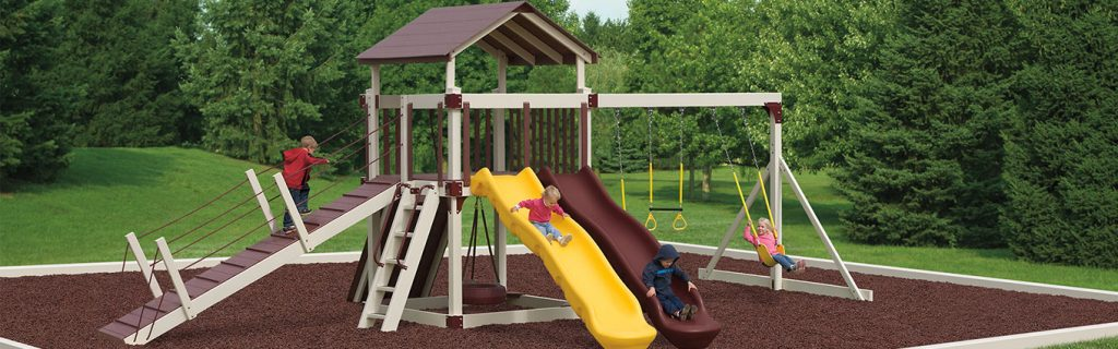 polish a plastic playground slide