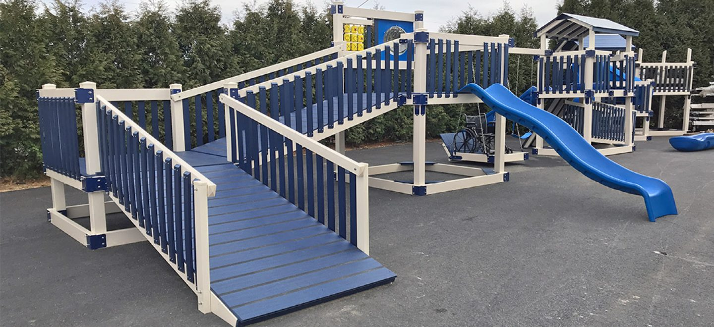handicap playground equipment for disabled children