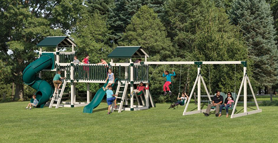 discovery depot swing set for big kids