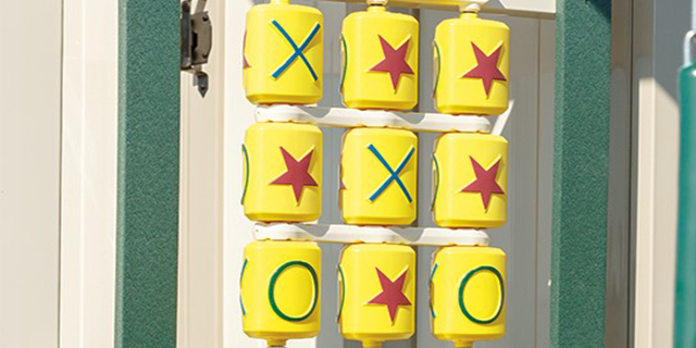 tic tac toe playset accessory