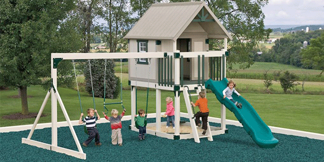 playhouse swing set add on