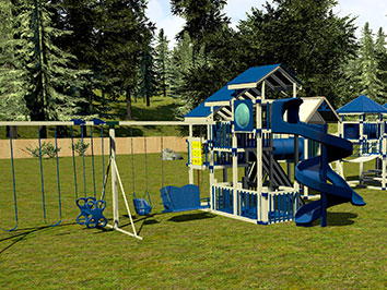 3d design of lifetime playset