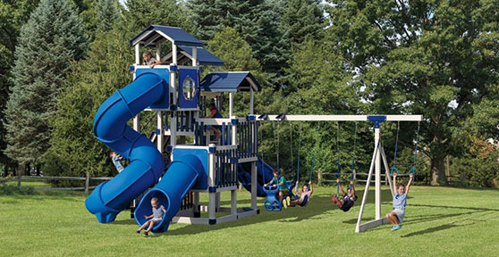 swing set raising home property value