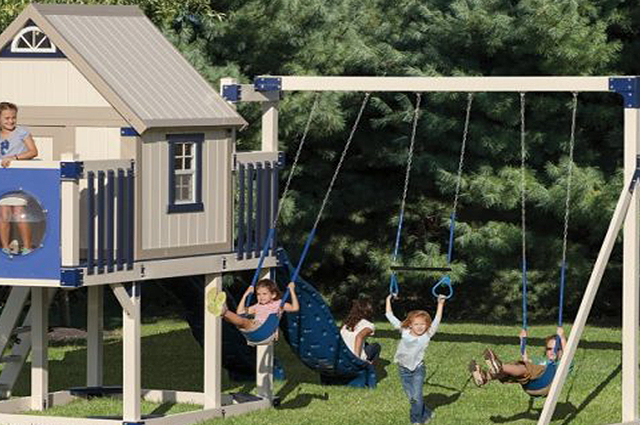 playset for a small yard