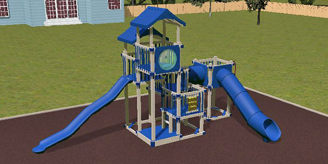 climbers dream on 3D playground design software