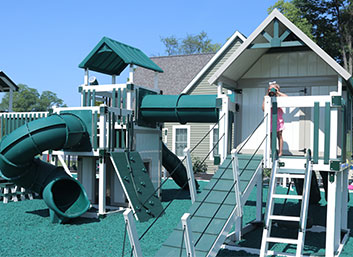 play set used for exercise