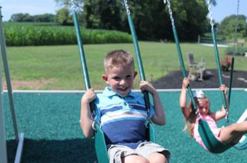 swing set exercise