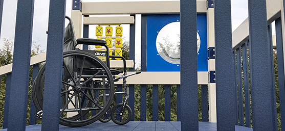 accessible playground equipment