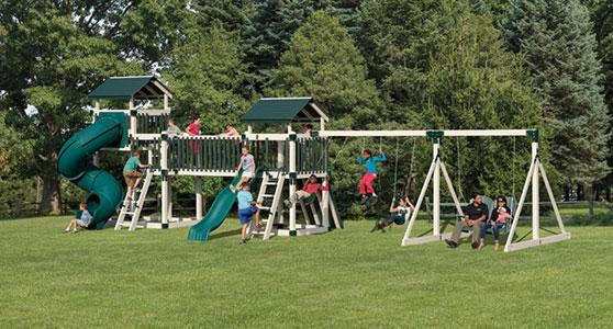 huge discovery depot backyard playground