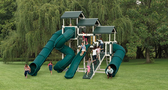 huge fantasy fortress backyard playground