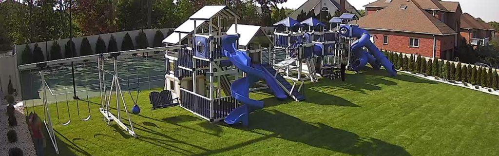 huge swing sets