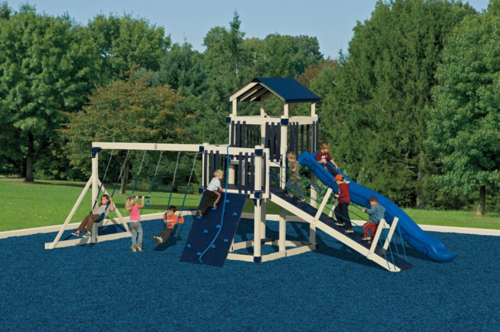 discovery depot family swing set