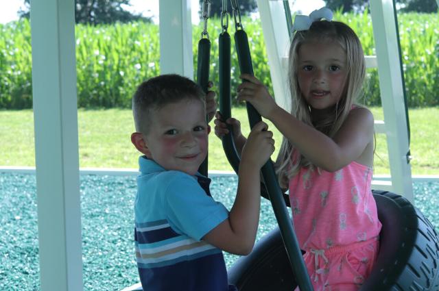 family swing set