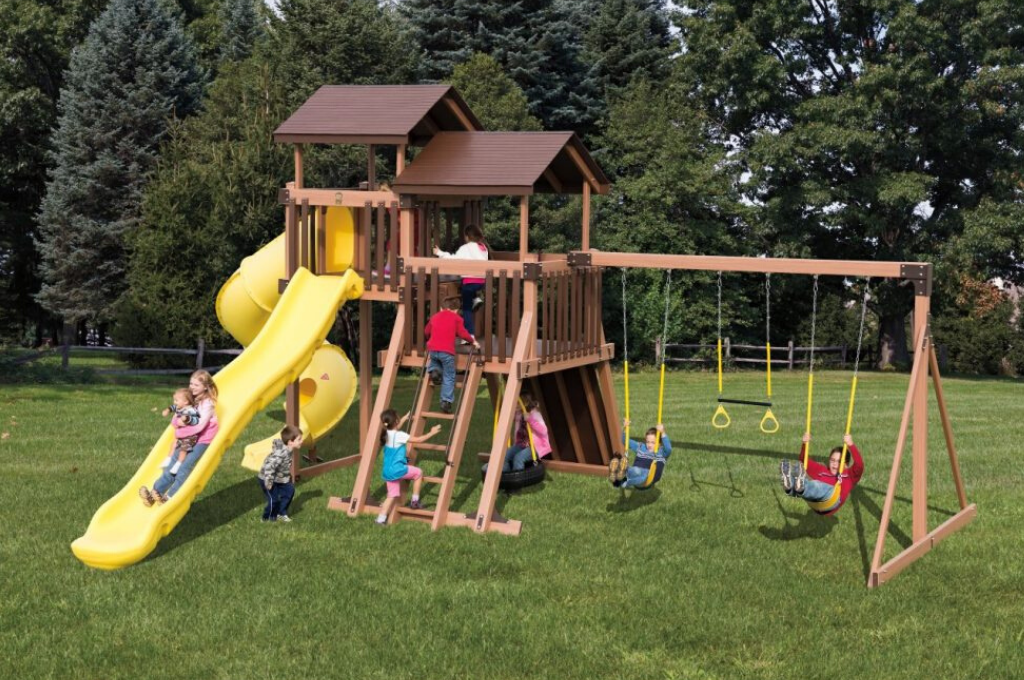good time tower family playset
