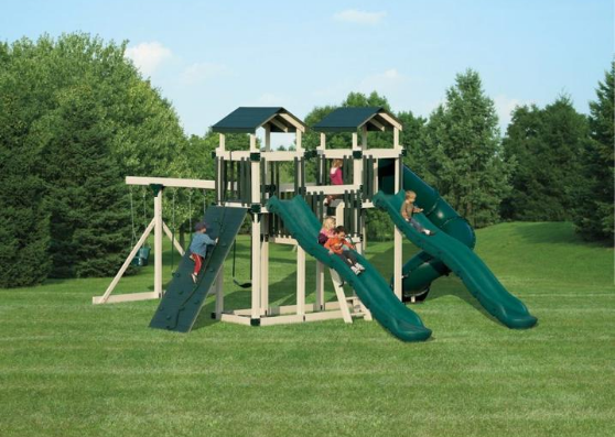 heavy-duty playsets