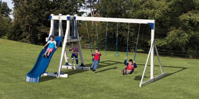 frolic zone outdoor playset for toddlers