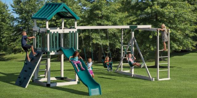 climbing swing sets