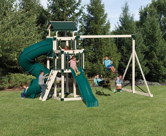 7 foot tall swing set