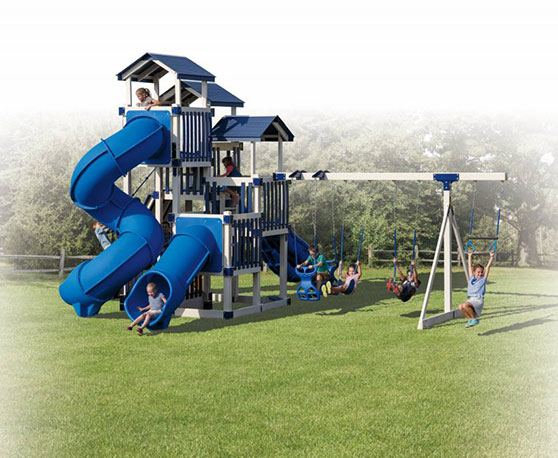 9 foot playset height