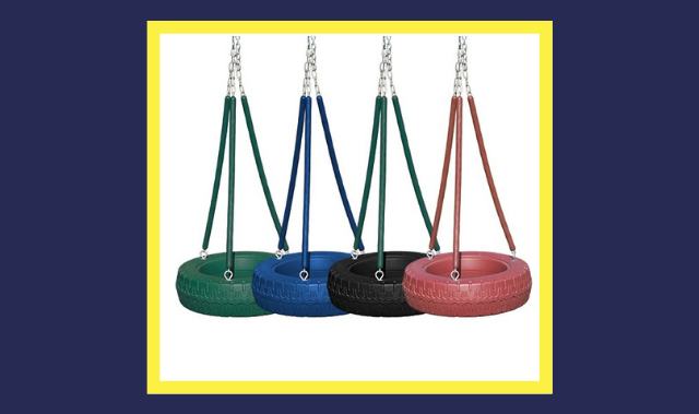 different types of tire swings
