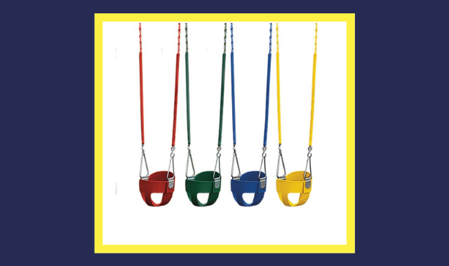kinds of full bucket baby swings