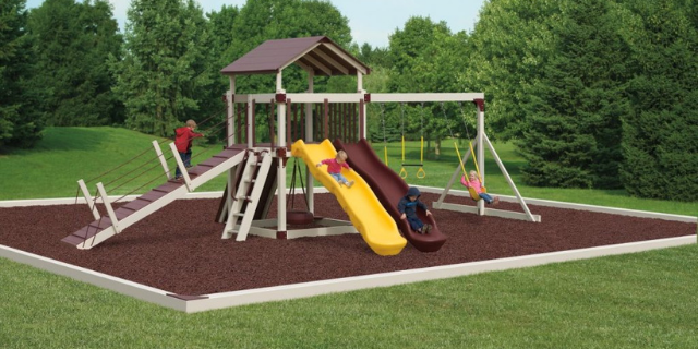 playsets with slides