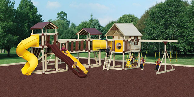 imagination station playset with clubhouse