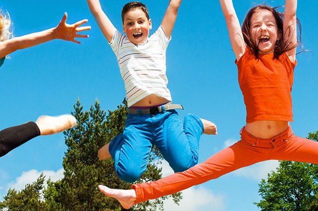 make exercise fun for kids